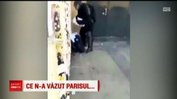 Scandal cu jandameria la Paris! Ce a facut un jandarm cand a vazut tricourile celor de la PSG