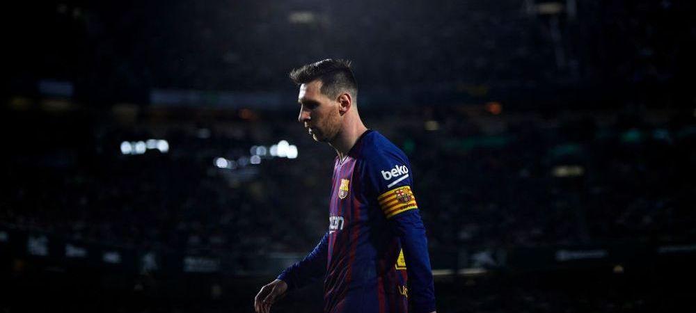 Messi, prima reactie dupa gestul fanilor lui Betis! Asa ceva nu s-a mai vazut! Ce a spus starul argentinian!