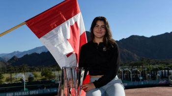 Moment senzational! Canadianca Bianca Andreescu nu a uitat de Romania si a vorbit in limba romana dupa ce a castigat trofeul! Ce a spus