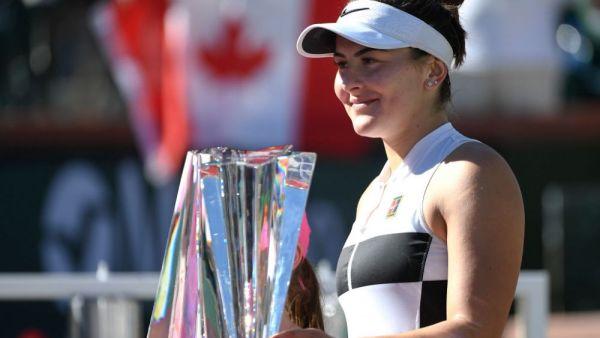 Cum a pierdut-o Romania pe Bianca Andreescu! La 18 ani e campioana la Indian Wells si  noua stea a tenisului mondial feminin