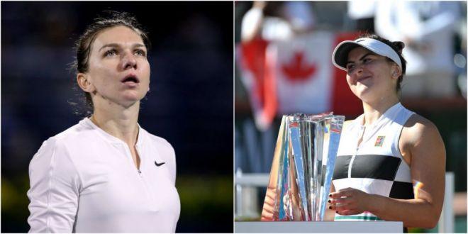 NOUL CLASAMENT WTA | Pe ce loc a cazut Halep si ascensiunea uluitoare a Biancai Andreescu! Plus 36 de locuri pentru campioana de la Indian Wells in doar o saptamana