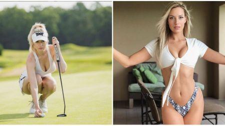 BOMBA SEXY din golf! Este una dintre cele mai frumoase jucatoare din circuit! Cum se pregateste pentru cele mai importante competitii! GALERIE FOTO