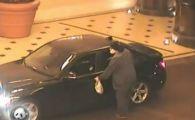 Momentul in care un barbat care a jefuit cazinoul Bellagio este impuscat de 4 politisti