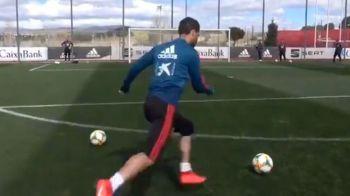 Sergio Ramos este gata de meciul cu Norvegia! Executii incredibile la antrenamentul Spaniei! Ce a reusit capitanul nationalei! VIDEO
