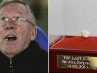 Ultima guma mestecata de Alex Ferguson in vestiarul lui United a costat cat un yacht! Suma uluitoare pentru care a fost vanduta la o licitatie in Anglia