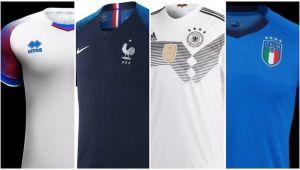 Cele mai frumoase tricouri de nationale din lume. Care e preferatul tau? Galerie FOTO