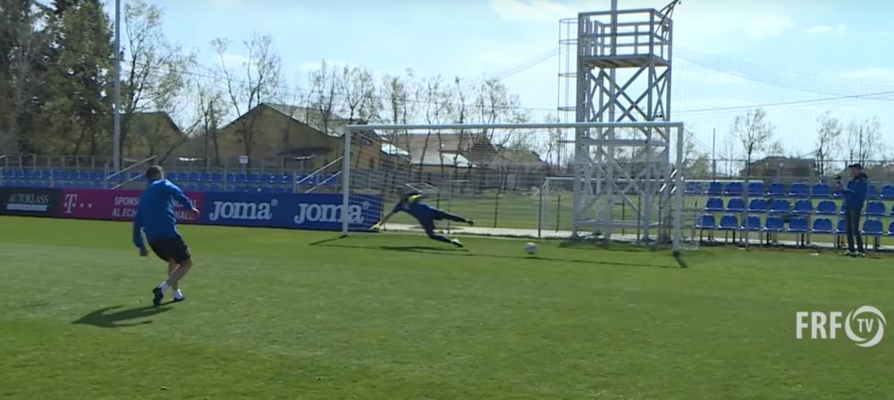 Incalzire pentru meciul cu Suedia! Concurs de penalty-uri la nationala: cine a castigat! | Suedia - Romania e sambata, ora 19:00, la PRO TV