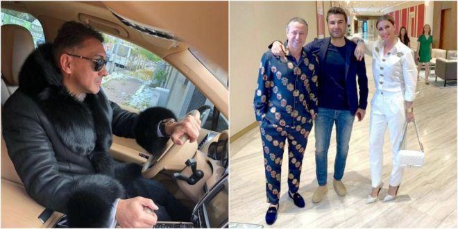 Cum a reactionat Ilie Dumitrescu dupa ce l-a vazut pe Reghecampf imbracat in pijama la un restaurant de lux din Dubai :)) Analiza vestimentara facuta de  Mister