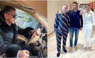 """Cum a reactionat Ilie Dumitrescu dupa ce l-a vazut pe Reghecampf imbracat in pijama la un restaurant de lux din Dubai :)) Analiza vestimentara facuta de """"Mister"""""""