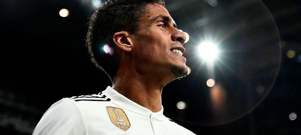 100.000.000 pentru Varane! Lovitura pentru Zizou, dupa revenirea la Real! Unul dintre jucatorii sai preferati se gandeste sa plece
