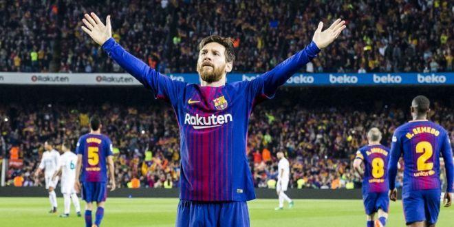Zeii fotbalului lucreaza! Imaginea fabuloasa cu Messi, de la meciul cu Betis, pictata acum 6 ani de un artist spaniol: FOTO