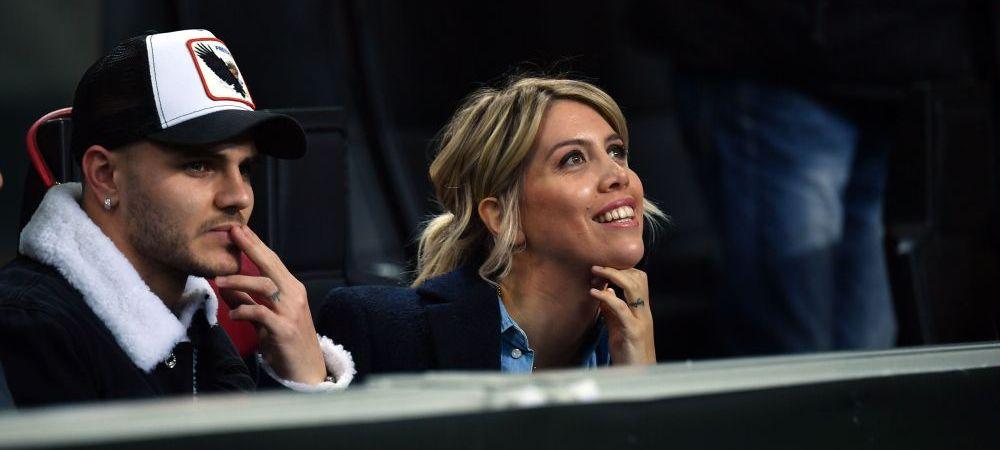 Decizia luata de Inter Milano dupa SCANDALUL cu Icardi! Ce s-a intamplat cu atacantul argentinian