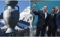 """Trofeul EURO si-a luat ZBORUL deasupra Europei: """"O sa fie cel mai tare turneu final din istorie!"""" UEFA a anuntat ambasadorii turneului"""