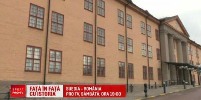 Bijuterie de hotel pentru nationala Romaniei! Pogba si Buffon au stat acolo cand au jucat la Stockholm | Suedia - Romania va fi la PRO TV, sambata, la ora 19:00!