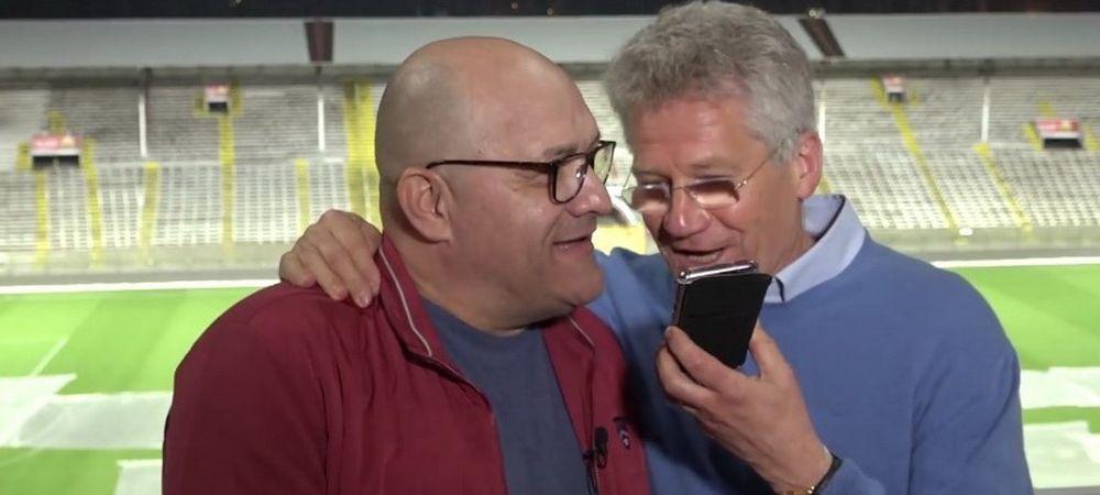 """""""Cine e?"""" Balint si Boloni, surpriza URIASA de ziua lui Emeric Ienei. Ce i-au cantat la telefon. VIDEO"""