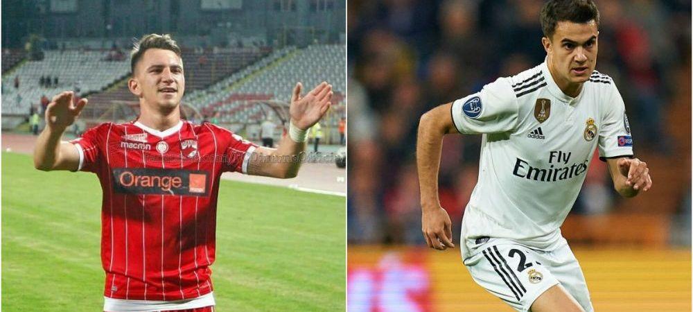 """Moment memorabil cu dinamovistul Sorescu, dupa meciul cu Spania! A remarcat un fotbalist de la Real Madrid: """"Aaa, fundasul, da! A fost unul dintre jucatorii buni"""""""