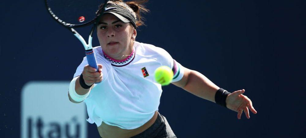 ANDREESCU MIAMI | Bianca e FABULOASA! A spulberat-o pe Kenin in doar doua seturi! Pe ce loc poate urca in clasamentul WTA