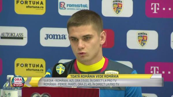 """Razvan Marin: """"Nu stiu daca au o echipa mai buna decat a noastra!"""" Singurul capitol la care nordicii sunt mai buni"""