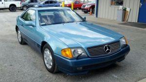 Mercedes furat in 1991, scos la vanzare in 2018. E uluitor ce au descoperit politistii cand s-au uitat in bord