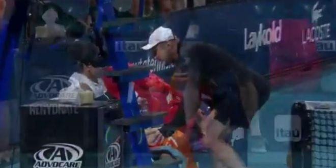 HALEP MIAMI | Simona a apelat pentru prima data la ajutorul noului antrenor! Momentul in care a fost chemat Daniel Dobre | VIDEO