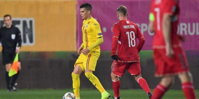 SUEDIA - ROMANIA, PROTV    Ianis nu e acolo doar sa care mingile!  Hagi, iritat cand a fost intrebat de fiul sau:  De ce spui  probabil va intra , nu a demonstrat?