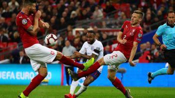 Anglia a reusit scorul preliminariilor cu Cehia! Englezii AU DECRETAT: Sterling, jucatorul anului! Ce a reusit starul lui City | VIDEO