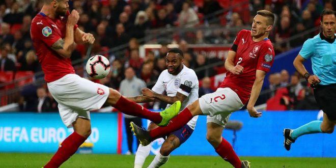 Anglia a reusit scorul preliminariilor cu Cehia! Englezii AU DECRETAT: Sterling, jucatorul anului! Ce a reusit starul lui City   VIDEO