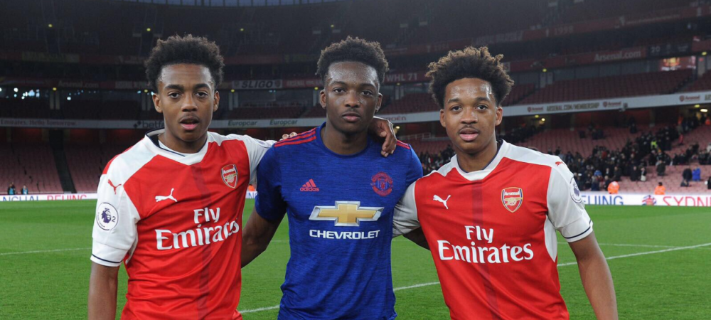 Povestea primilor frati care joaca simultan la Arsenal, Benfica si Manchester United! Ce s-a intamplat cand s-au intalnit pe teren!