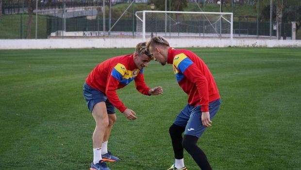 Ne batem cu ei! Mirel Radoi, antrenament inedit in cantonamentul din Spania! Cum s-au pregatit tricolorii U21! VIDEO