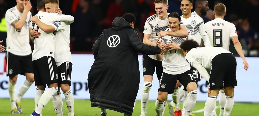 PRELIMINARII EURO 2020   Olanda 2-3 Germania! Nemtii au dat lovitura in minutul 90 prin Schulz, dupa un meci fenomenal! Israel 4-2 Austria, Cipru 0-2 Belgia. REZUMATE VIDEO