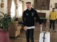 """FOTO Ionut RADU a parasit cantonamentul nationalei U21. Ce masina i-a pus FRF la dispozitie: """"Era singura, altfel pleca cu Dacia!"""" FOTO"""