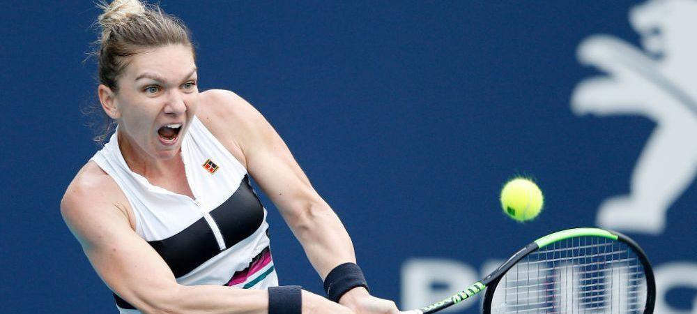 E favorita la castigarea turneului de la Miami. Ce cota are Simona Halep pentru a cuceri trofeul.