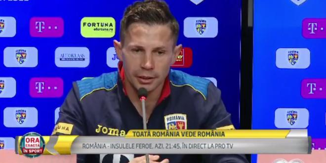 Deci? Cum e sa fii titular chiar la Cluj?!  Deac nici nu a apucat sa raspunda pentru ca selectionerul Contra n-a primit bine intrebarea. Ce a spus: VIDEO