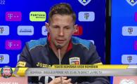 """""""Deci? Cum e sa fii titular chiar la Cluj?!"""" Deac nici nu a apucat sa raspunda pentru ca selectionerul Contra n-a primit bine intrebarea. Ce a spus: VIDEO"""