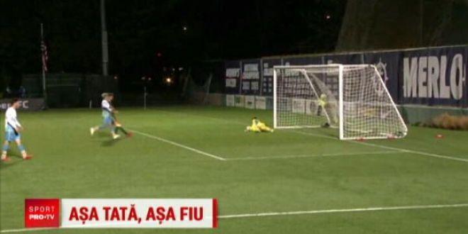 Si Ibrahimovic ar fi invidios! Ce gol a reusit fiul lui Asprilla: executie absolut fabuloasa   VIDEO