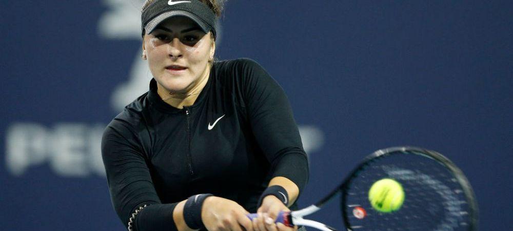 Bianca Andreescu s-a retras de la Miami! A acuzat probleme medicale si s-a oprit in timpul unui schimb | VIDEO