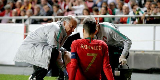 PANICA la Juventus! Cristiano Ronaldo S-A RUPT dupa 30 de minute din meciul cu Serbia! Primul verdict: cat de grava e accidentarea