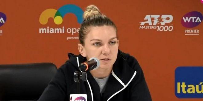 VIDEO Momentul in care un jurnalist ii adreseaza Simonei o intrebare fara nicio legatura cu subiectul si reactia campioanei noastre