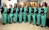 Noua asistente dintr-o sectie au ramas gravide in acelasi timp.Explicatia sefului