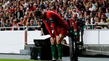 """Anuntul facut de Ronaldo dupa accidentarea din meciul cu Serbia! """"Imi cunosc perfect corpul"""" Cat lipseste portughezul"""