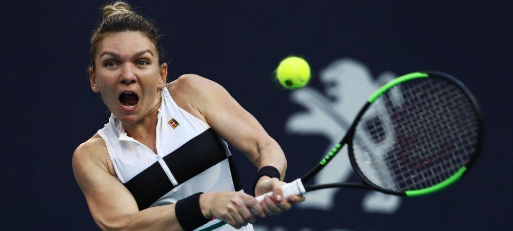 Simona Halep poate ajunge din nou numarul 1 mondial dupa turneul de la Miami! Care sunt sunt conditiile pe care trebuie sa le indeplineasca