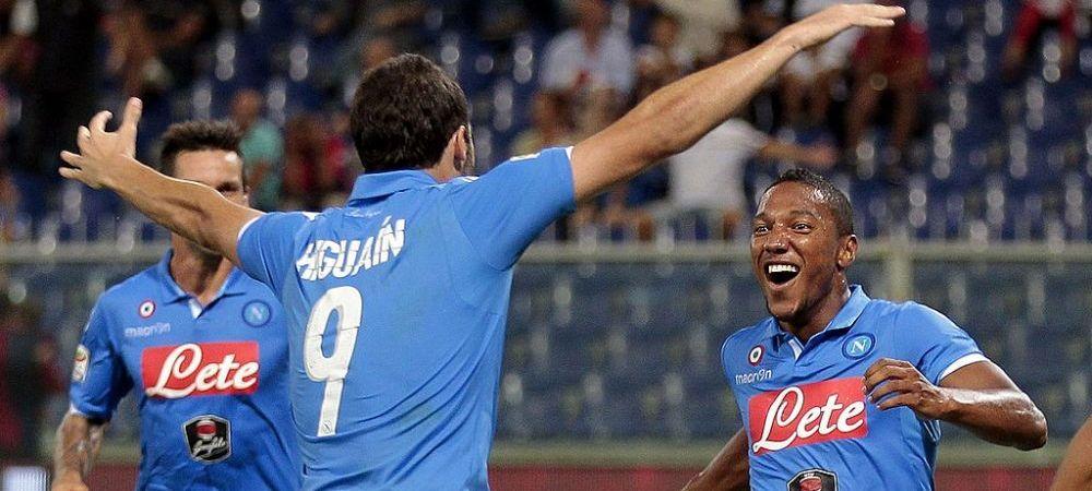 Povestea fotbalistului caruia Napoli a fost aproape sa ii termine cariera! Directorul sportiv l-a lovit cu pumnul!