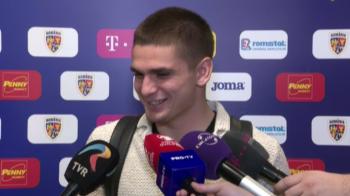 Razvan Marin nu s-a putut abtine! Cum a reactionat cand a fost intrebat despre transferul pe 12.000.000 euro la Ajax: VIDEO
