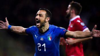 Meci FABULOS pentru Italia! Cel mai batran marcator si cel mai tanar au inscris in acelasi meci! Omul care ii ia locul lui Ronaldo la Juve a intrat in istorie