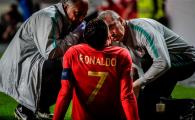 Anuntul facut de Juventus dupa accidentarea lui Ronaldo in preliminariile EURO 2020! Care e stare portughezului si cand revine pe teren