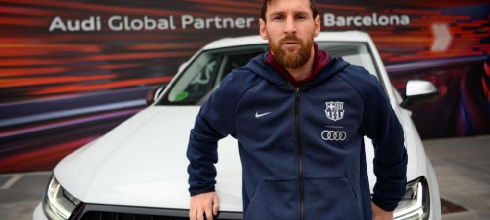 Ce RACHETA a primit Messi din partea clubului. Toti jucatorii Barcelonei au masini noi. FOTO