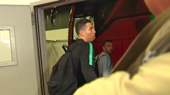 """Cum a reactionat Ronaldo cand a fost intrebat despre sanctiunea pentru gestul """"big balls"""" de la meciul cu Atletico. Portughezul risca suspendarea daca va recidiva"""