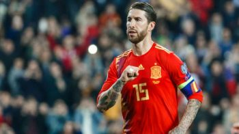Performanta incredibila reusita de Sergio Ramos la nationala! Ce record a egalat capitanul Spaniei! Mesajul lui Iker Casillas!