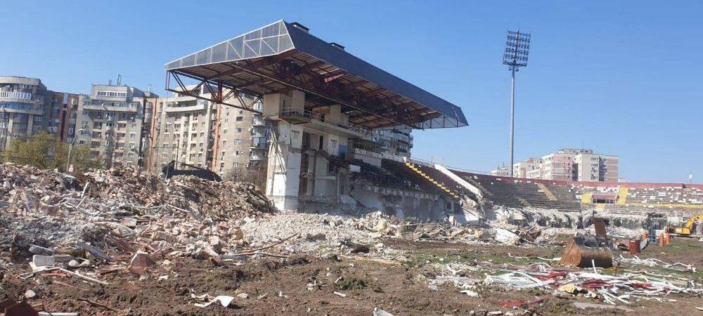 CADEEEE! Cum arata AZI ruina stadionului din Giulesti si care e stadiul lucrarilor in Ghencea