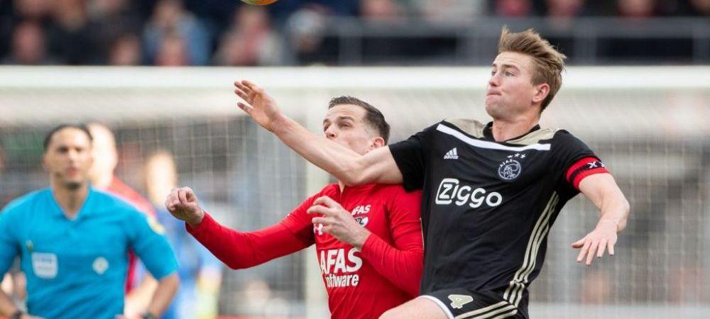 Cum incearca Barcelona sa-l transfere pe De Ligt: oferta neasteaptata primita de olandezi! Catalanii vor sa trimita 4 JUCATORI la Ajax